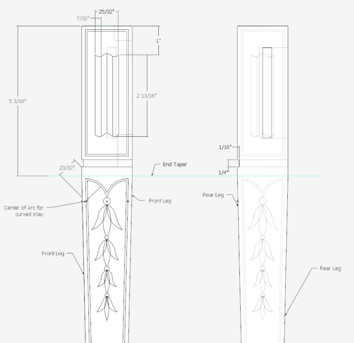 Leg Inlays Sep