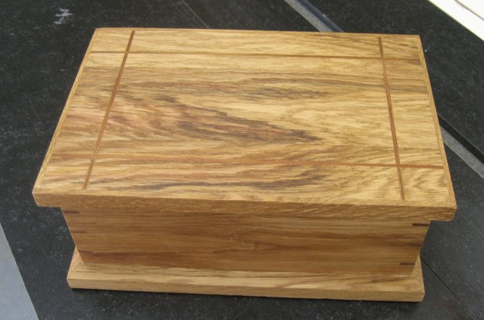 Jewelry Box Recycled White Oak and Cedar FineWoodworking