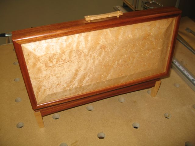 Mahogany and Birdseye Maple Jewelry Box FineWoodworking