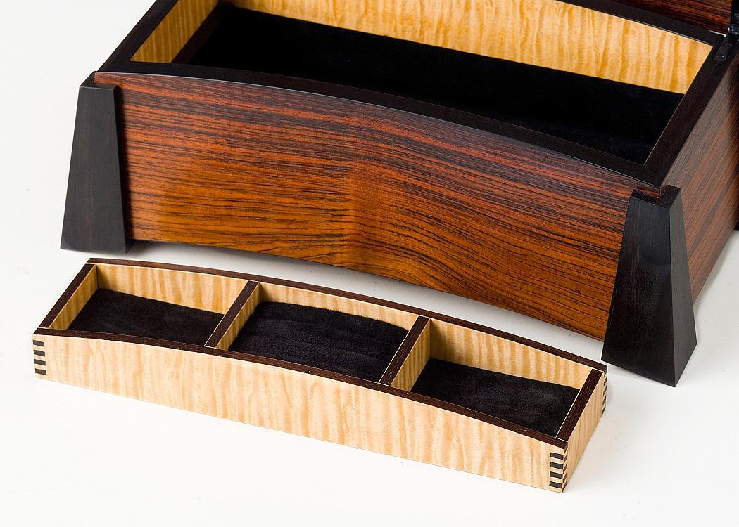 Jewelry Box Bent Laminated Lid Finewoodworking
