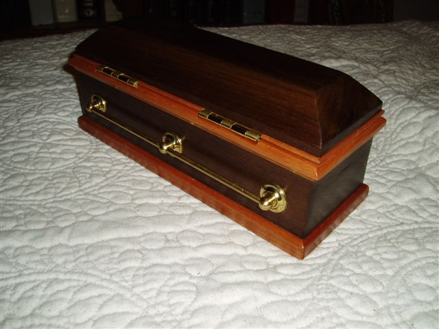 Coffin jewelry box for my niece FineWoodworking