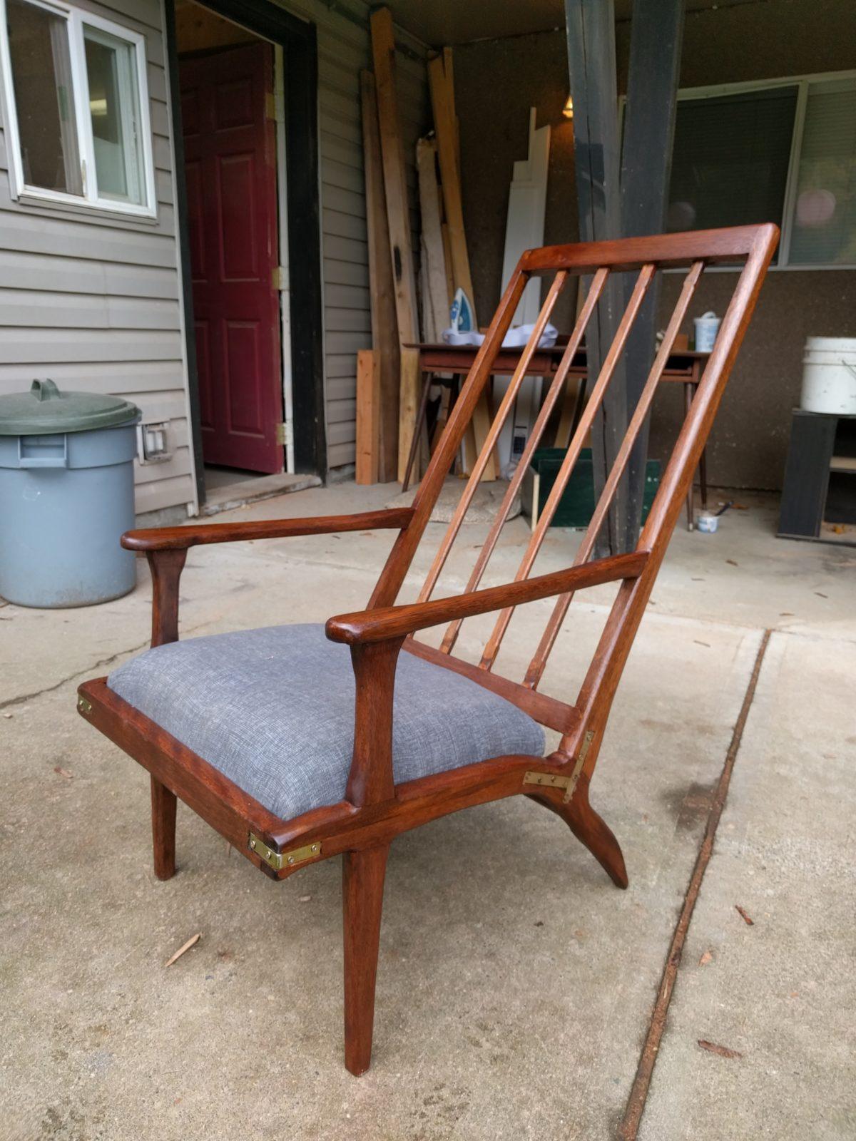 Incredible Mid Century Modern Lounge Chair Finewoodworking Inzonedesignstudio Interior Chair Design Inzonedesignstudiocom