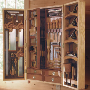 There S A Woodworking Storage Surprise In This Tool Chest