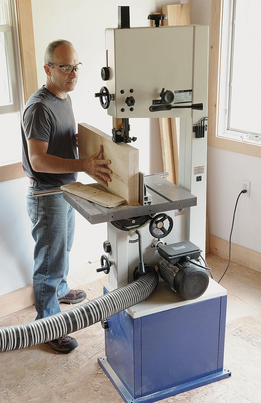 rikon 10-326 14-in bandsaw - finewoodworking