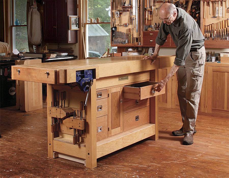 Under Bench Tool Cabinet Finewoodworking