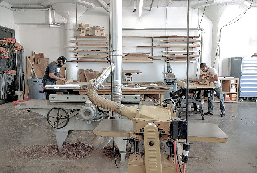 Workshops in the city - FineWoodworking