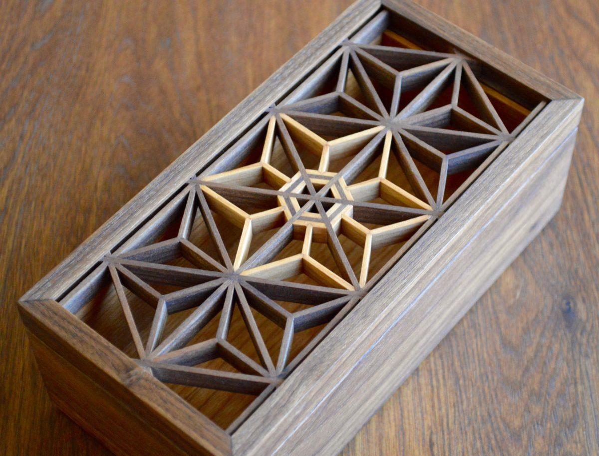 Kumiko Boxes Finewoodworking