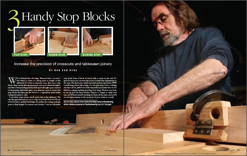 3 Handy Stop Blocks spread