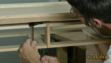 In this episode, Matt finishes the dovetailed partition, and glues in the dividers finishing off the internal structural elements