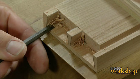 Half-Blind Dovetailed Drawers