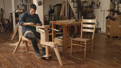Build a Thoroughbred Shaving Horse