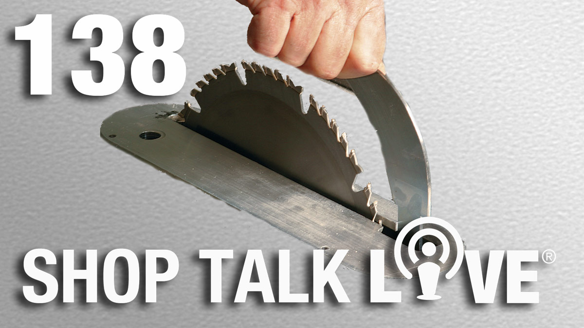 STL 138: Tool flipping and riving knives - FineWoodworking