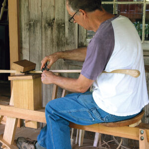 use a spokeshave to fair the facets