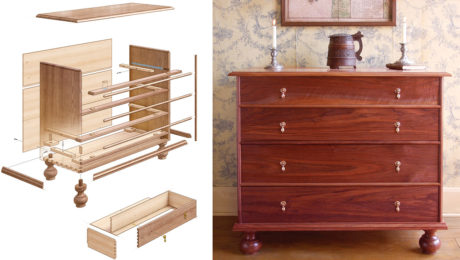 Hudson Valley Chest Of Drawers