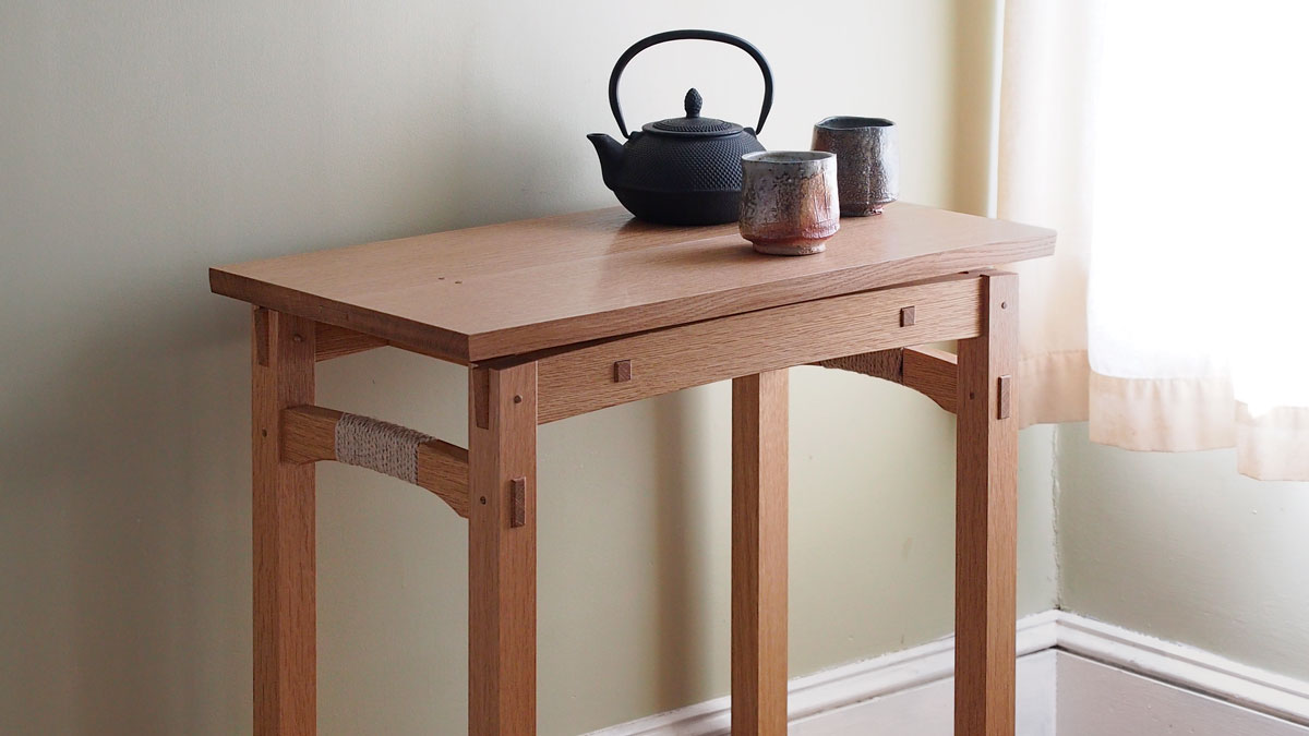 Floating Top Table Finewoodworking
