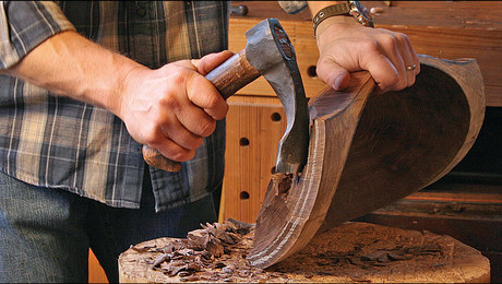 Axes and Adzes for Bowl Carving - FineWoodworking