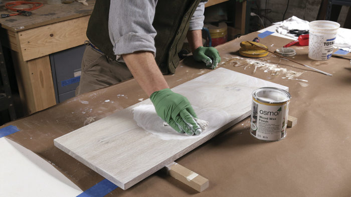 Michael Robbins Shows How On A White Oak Cabinet, Where Bleached Panels  Contrast Nicely With The Natural Carcase And ...