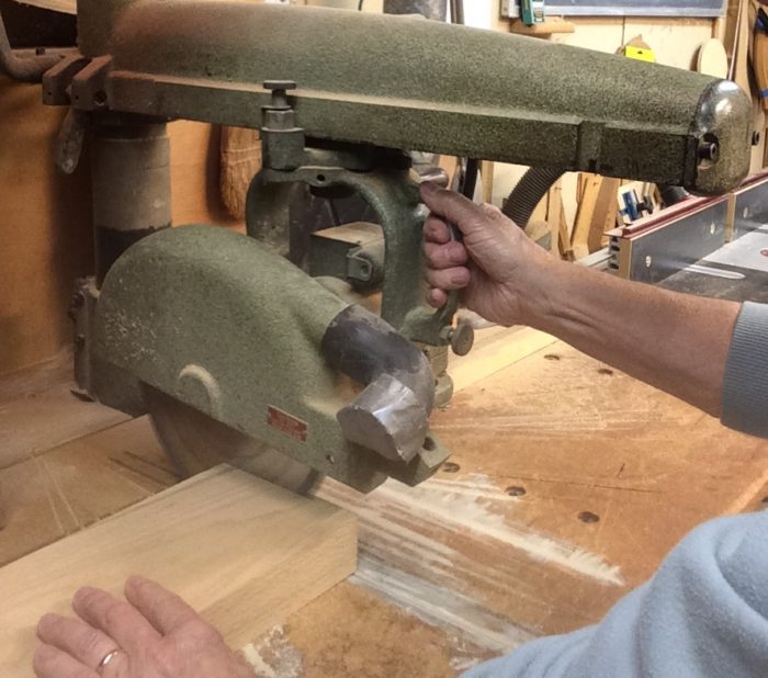 How To Cut Large Stock With A Miter Saw Finewoodworking