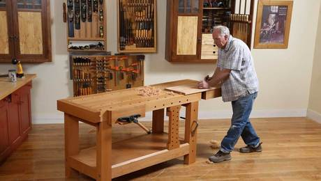 Chris Gochnour's shop really is this tidy - FineWoodworking