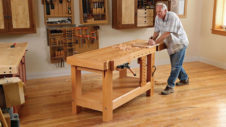 How To Build A Heavy Duty Workbench Finewoodworking