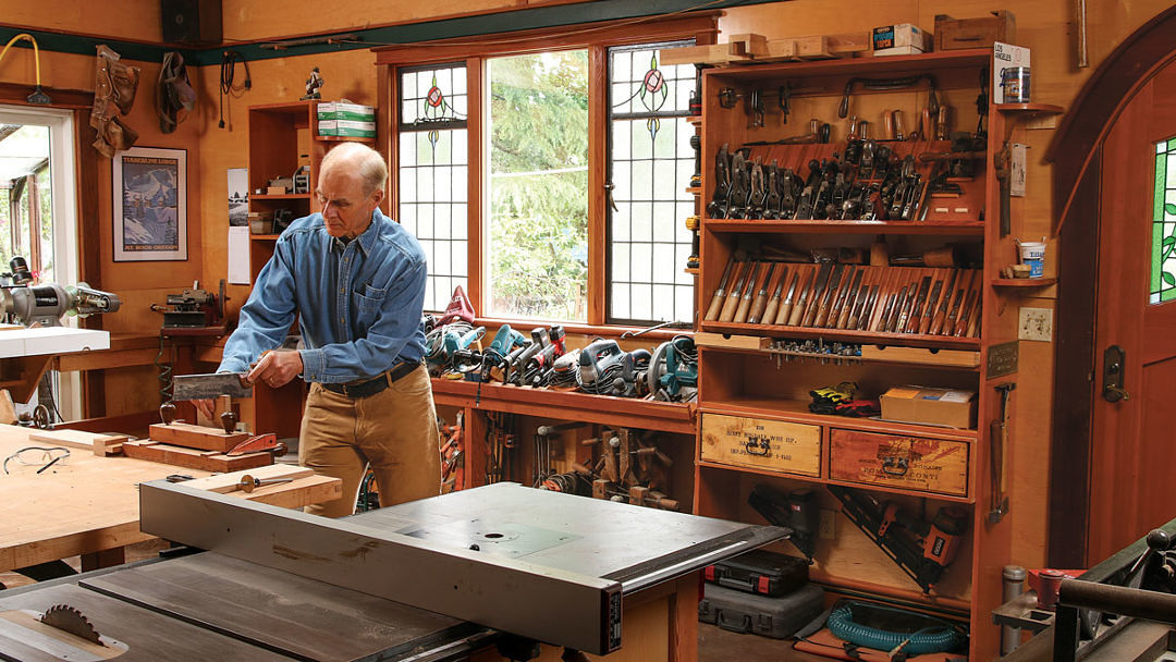 Open Workshop Storage For Hand Tool And Power Tools Finewoodworking