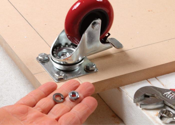 6) Use lock washers.