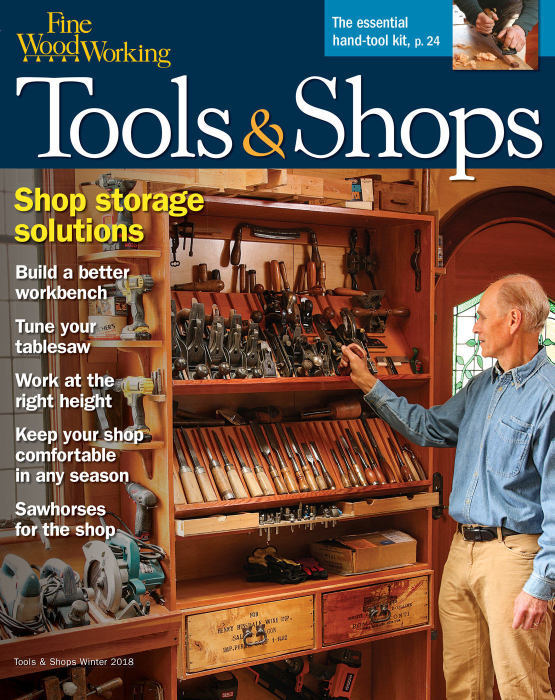 265 Tools Shops 2018 Finewoodworking