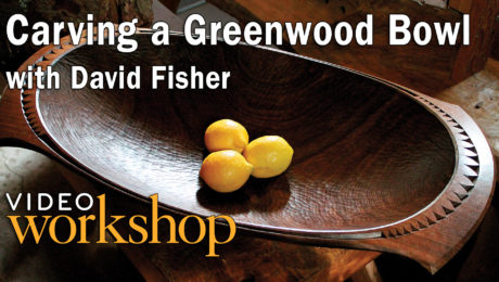 carving a bowl from green wood how to video