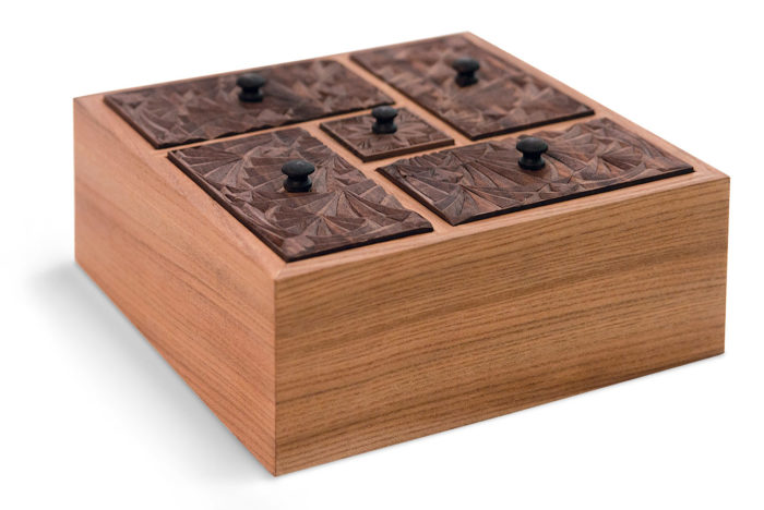 Carved Tea Box Finewoodworking