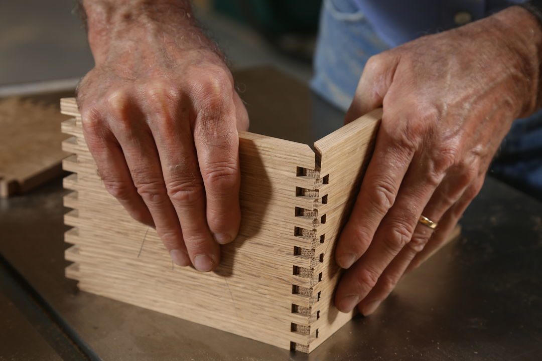 How to make mitered finger joints - FineWoodworking