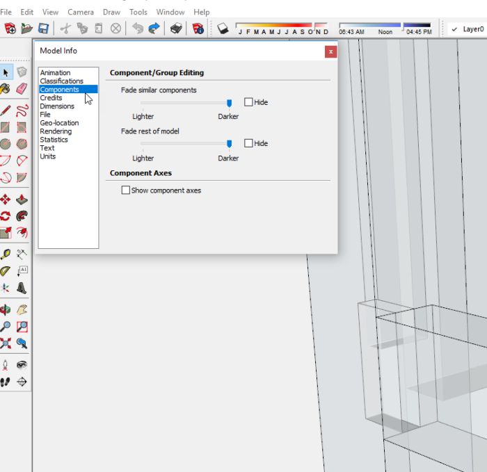 How to Develop a Piece of Furniture in SketchUp - Part III