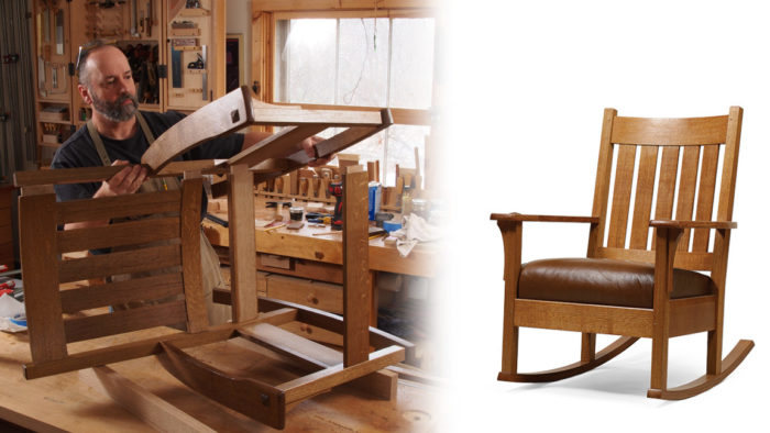 Craftsman Rocking Chair Finewoodworking