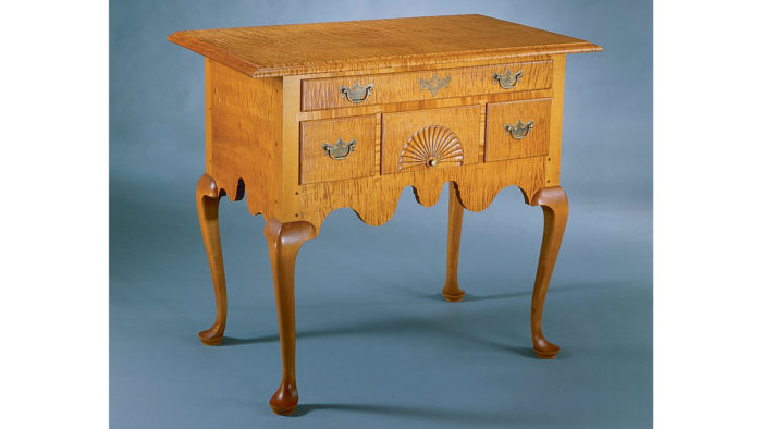 Synopsis: Although Not A True Replica, This Lowboy Incorporates The  Features Found On Queen Anne Pieces Made In Connecticut During The 18th  Century.