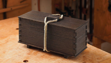 how to make a tea box