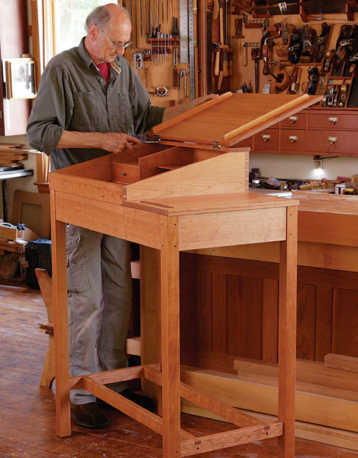 Desk Plans Fine Woodworking S Best Plans And Projects