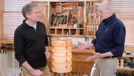 Classic Woodworking: Contemporary Table Lamp (112)
