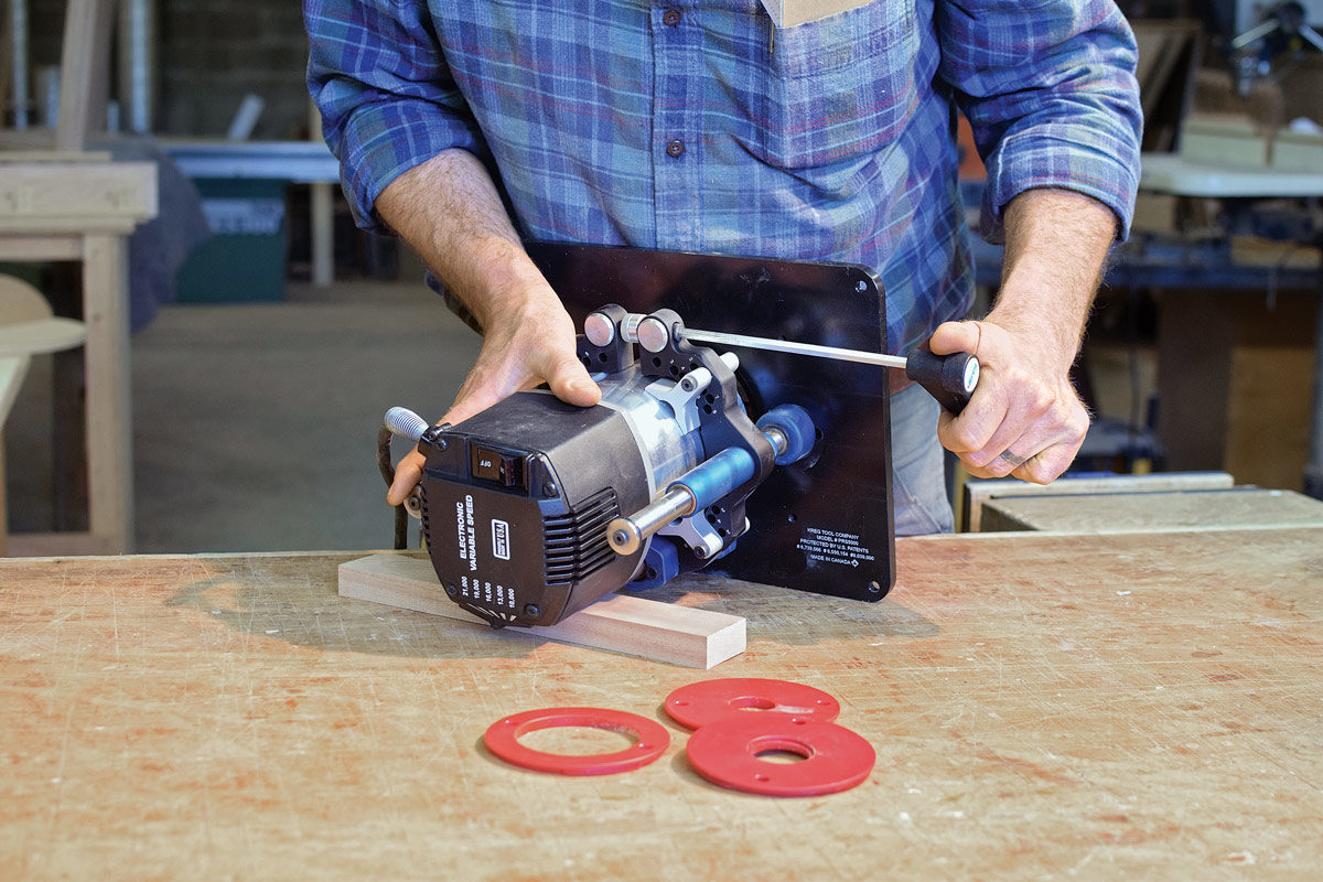 Tool Review Kreg Model Prs5000 Router Lift Finewoodworking