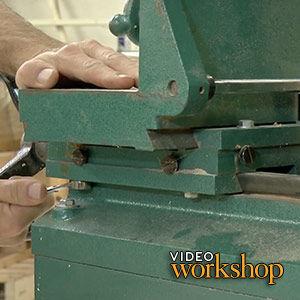 Groovy Tool Test Benchtop Mortisers Finewoodworking Creativecarmelina Interior Chair Design Creativecarmelinacom