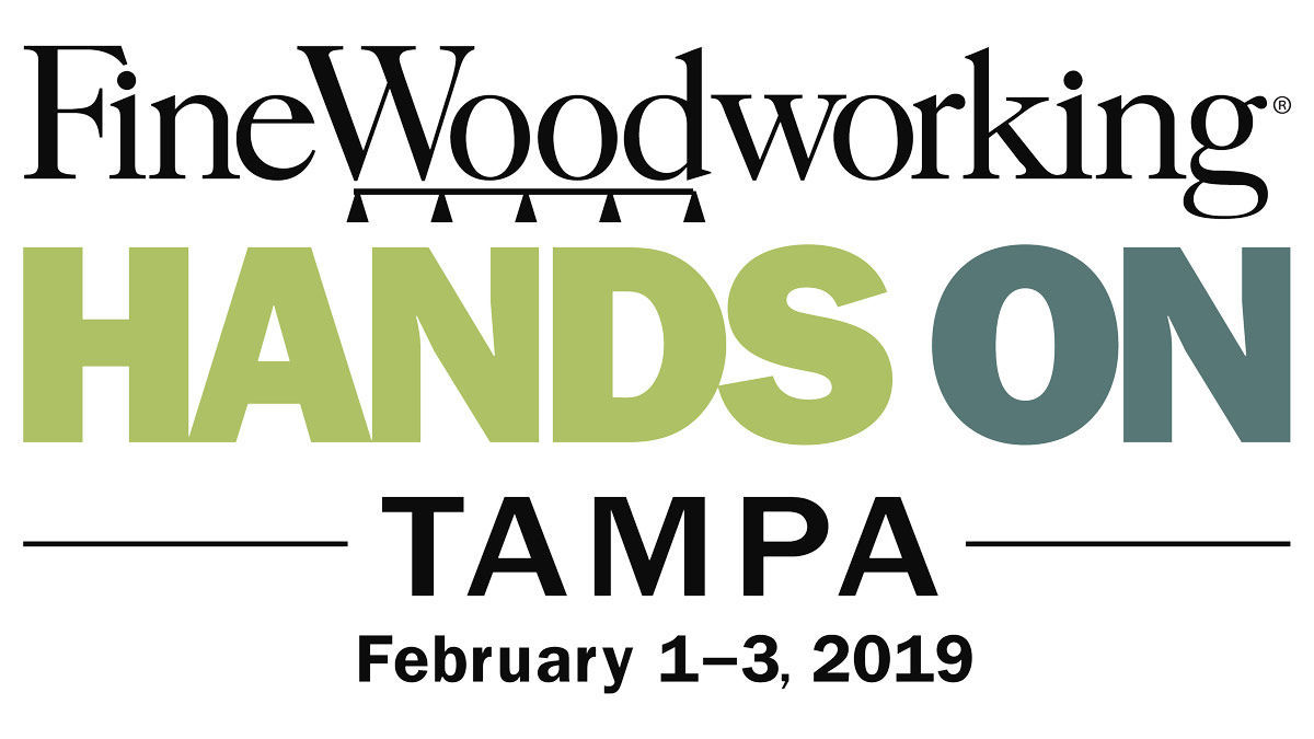 Join Fine Woodworking In Tampa This February Finewoodworking