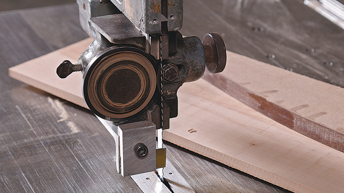 bandsaw blade and bearings