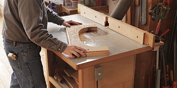 Shopmade Router Table