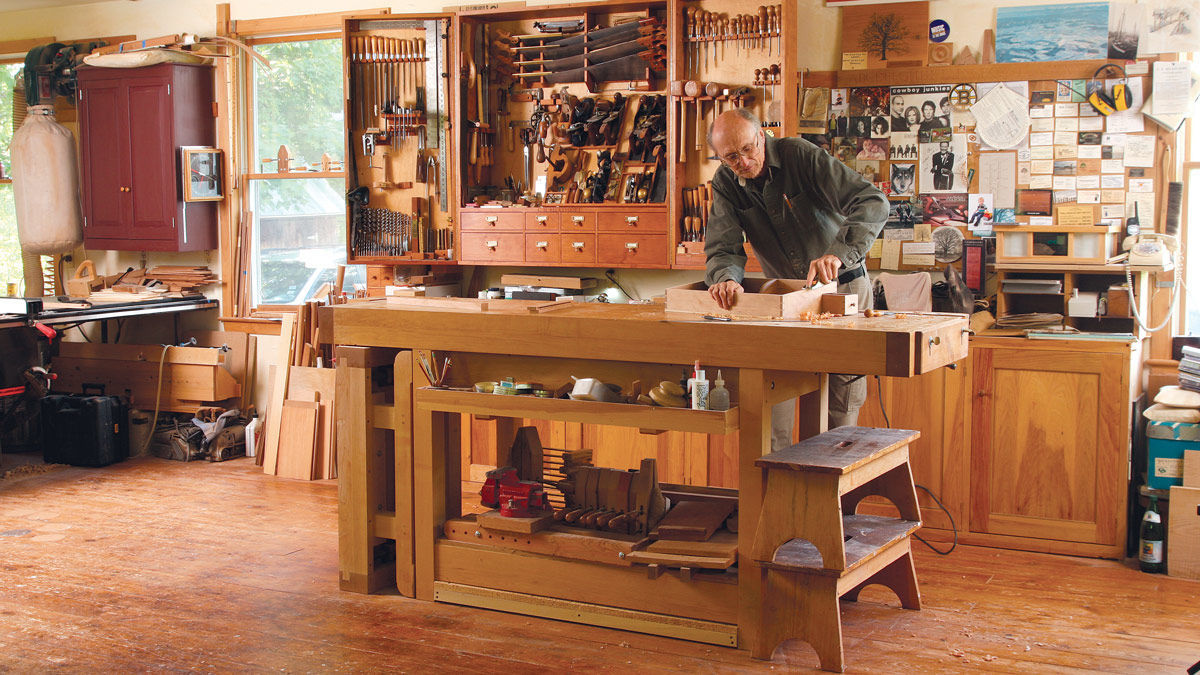 A Look Around Chris Beckvoort S Shop Finewoodworking
