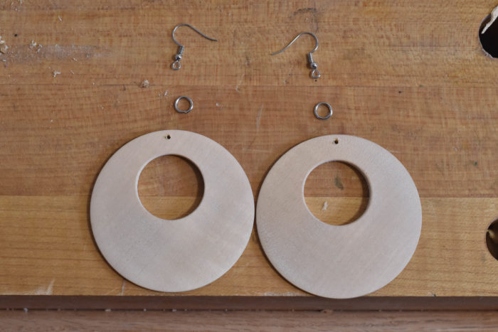 easy turning project earring plans findings