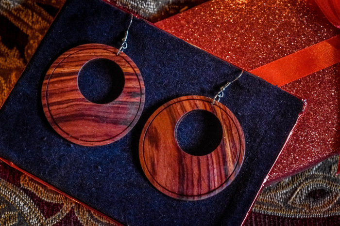 easy turning project earring plans rosewood