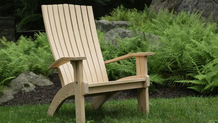 Modern Adirondack Chair Finewoodworking
