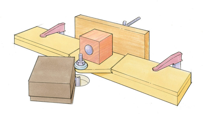 Workshop Tips: Router-Table Jig Makes Perfect Rabbets for Banding