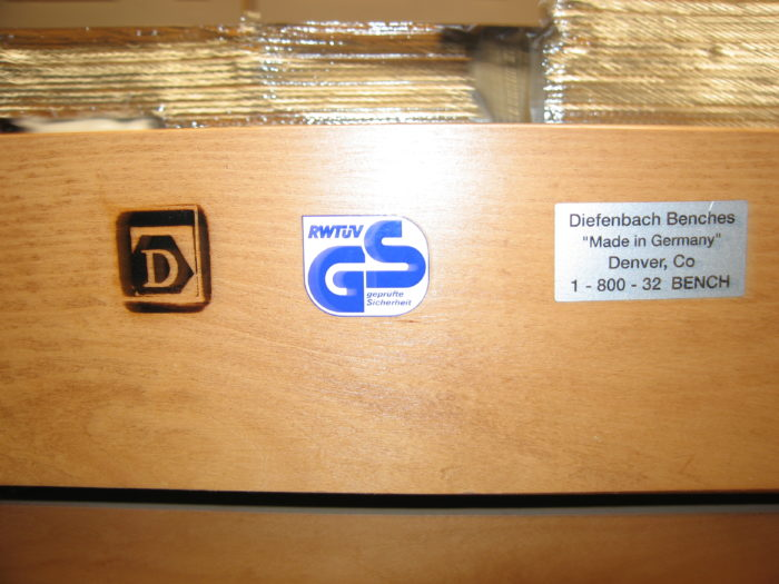Selling A Diefenbach Workbench Not Sure What To Ask For
