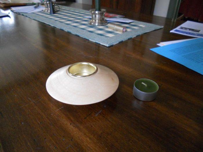 Metal Insert For A Tea Light Holder Finewoodworking