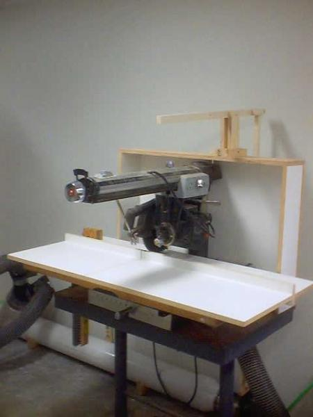 fuse switch box radial arm saw dust collection finewoodworking  radial arm saw dust collection finewoodworking