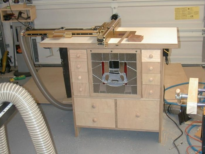 Fantastic Building A Router Table Finewoodworking Squirreltailoven Fun Painted Chair Ideas Images Squirreltailovenorg